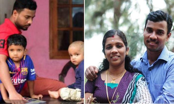Nurse Lini Husband Donates First Salary To Kerala Flood Victims--Nurse Lini Husband Donates First Salary To Kerala Flood Victims-