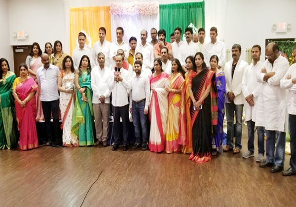 Pre Festival Arrangements Of Ugadi Bathukamma In USA-