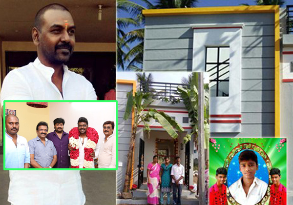 Raghava Lawrence Builds A House For His Fan's Parents-