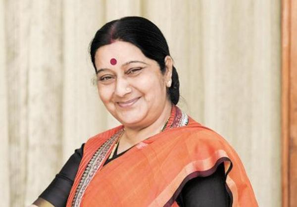 Sushma Swaraj Helps NRIs Trough One Tweet-