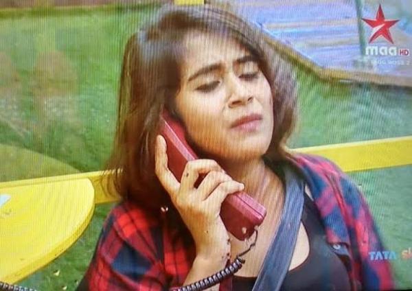 deepthi sunaina eliminated from bigg boss house-Deepthi Sunaina,Eliminations,kaushal Army,Telephone Task