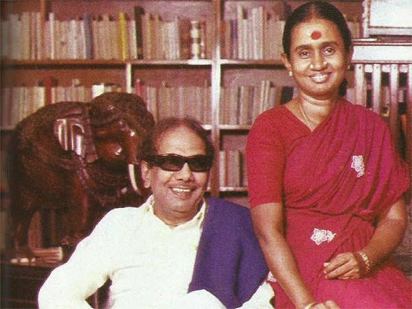 Karunanidhi Second Wife Dont Know About Karunanidhi-
