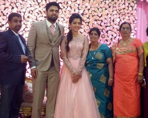 Actress Rashmika About Her Daughter Engagement-