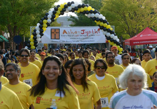 Asha Jyothi 5k Run In America Of This September 16th 2018-Asha Jyothi 5k Run In America Of This September 16th 2018,Asha Jyothi 5k Run September 16th 2018,NRI,Telugu NRI News