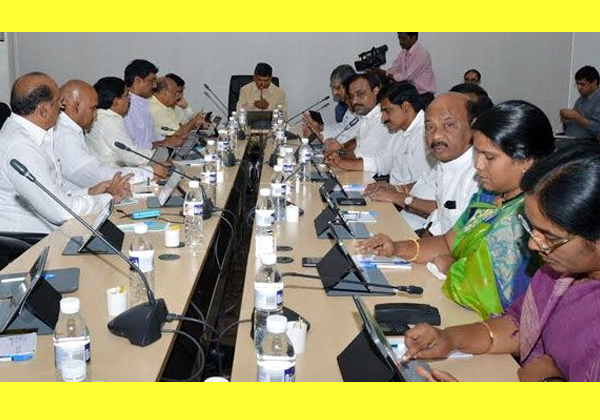 Chandrababu Naidu Will Conduct AP Cabinet Meet-