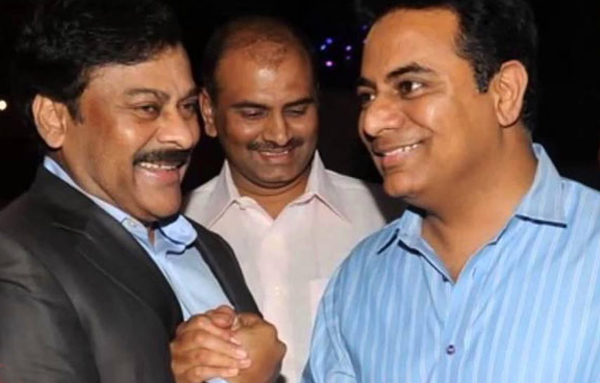 Chiranjeevi Tension in Congress and TRS-