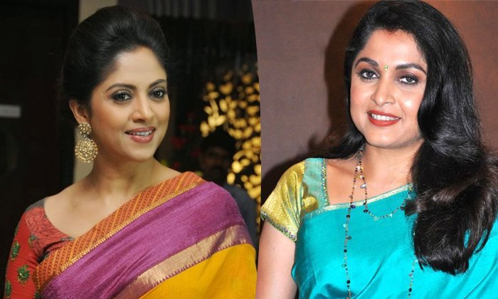 Competition Between Ramya Krishna And Nadiya For Movie Roles-