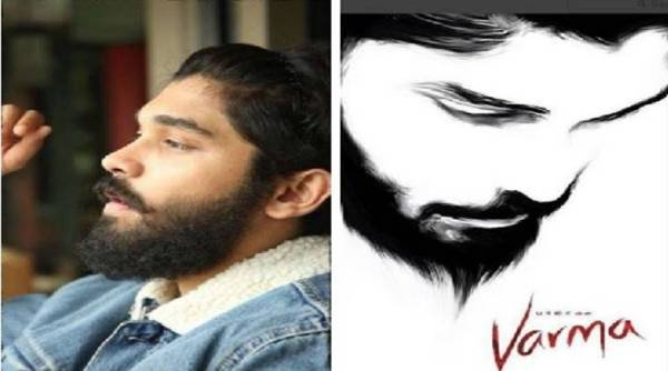 Dhruv Vikram's First Look From Varma  The Tamil Remake Of Arjun Reddy-