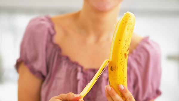 Eating a Banana before sleep helps in multiple ways-Eating Banana,helps With Heart Disease