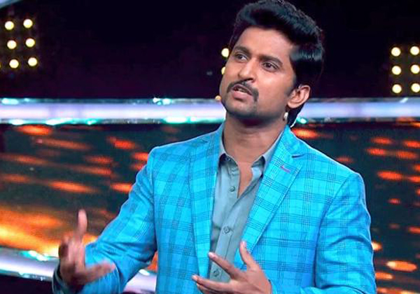 Host Nani Gives Explanation Of Nutan Naidu Elimination-