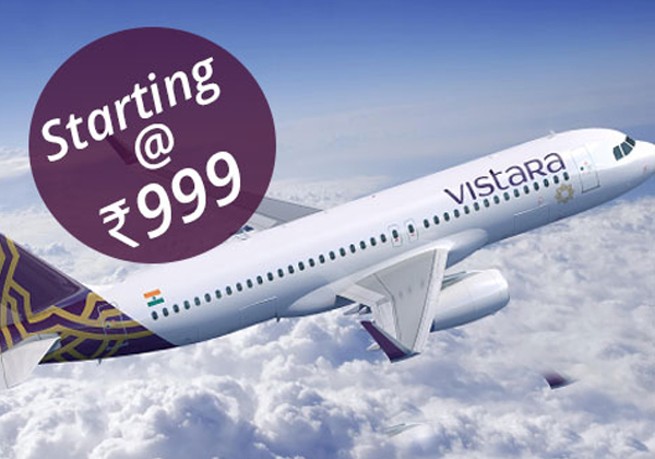 IndiGo's Festive Sale Offer: Fly As Low Rs 999-