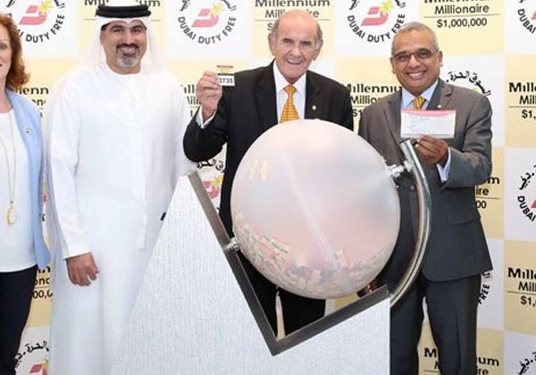 Indian NRI Gets Lattory In Dubai-