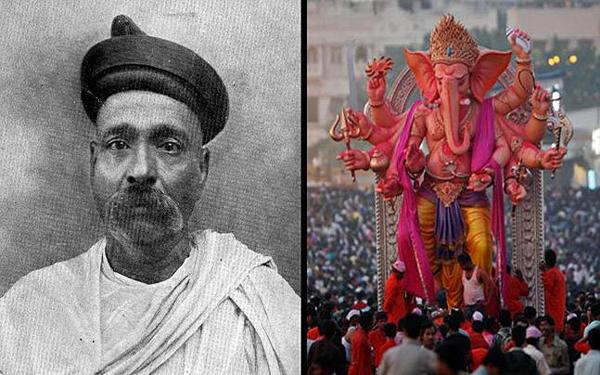 Lokamanya Bal Gangadhar Tilak Behind Ganesh Chathurthi Celebrations-