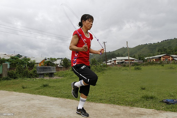 Mary Kom Lost 2 Kilos In Just 4 Hours By Skipping Rope-