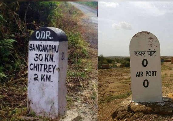 Meaning Of Indian Highway Milestone In Different Colours-