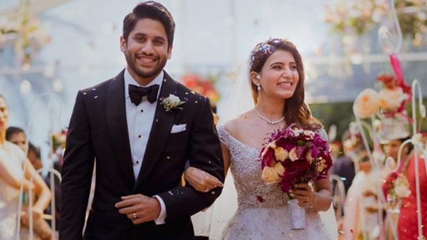 Samantha Unique Gift For Hubby Chaitu On First Wedding Anniversary-