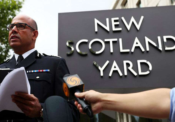 Scotland Yard's First Indian-origin Counter-terror Chief Wins Award-