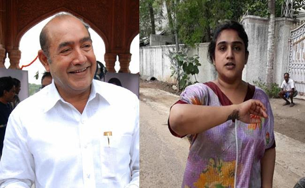 Senior actor vijay kumar Files Police Complaint Against Daughter-Police Complaint,Senior Actor Vijay Kumar,Vanitha Vijaykumar,