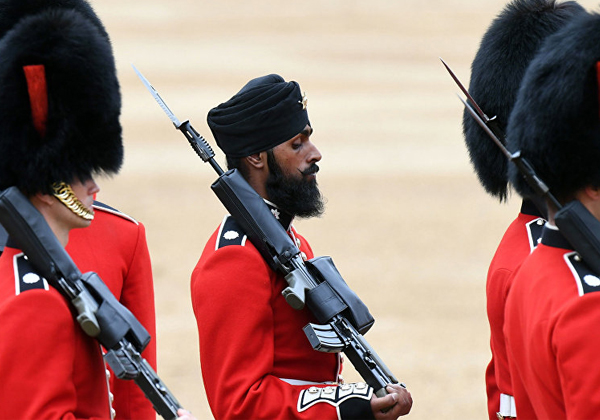 Sikh Guardsman 'faces Discharge From Army After Testing-