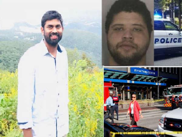 Telugu Young Employee Prithviraj Shot Dead In America-