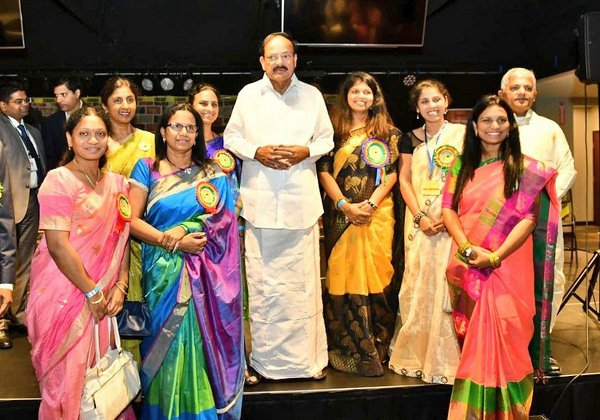 The Manabadi Program Created Record With 10000 students-Manabadi Program Record,siliconandhra,The Manabadi Program Created Record With 10000 Students,Venkaiah Naidu,