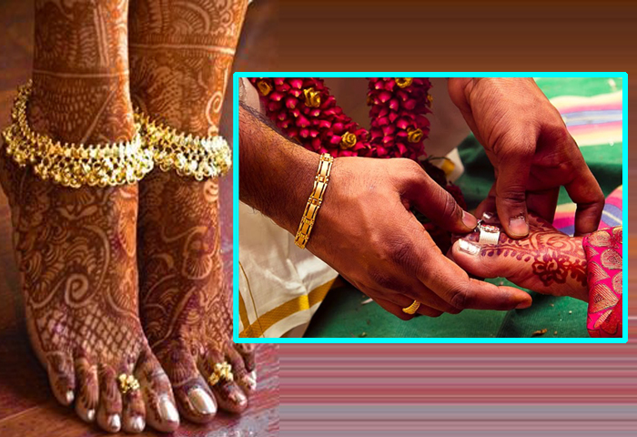The Unknown Facts Of Toe Ring In Indian Marriages--The UnKnown Facts Of Toe Ring In Indian Marriages-
