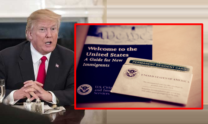 Trump Administration Proposes To Deny Green Cards--Trump Administration Proposes To Deny Green Cards-
