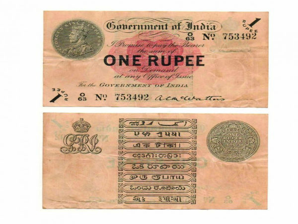 Interesting Facts To Know About One Rupee Note-