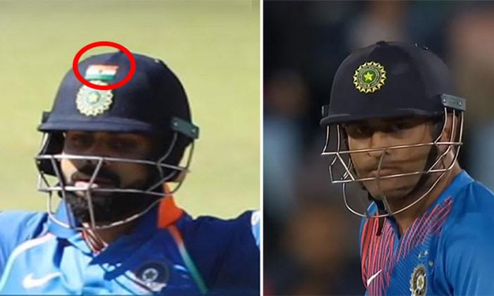 Why Doesn\'t Dhoni Wear The Indian Flag On His Helmet Reason Is--Why Doesn't Dhoni Wear The Indian Flag On His Helmet Reason Is-