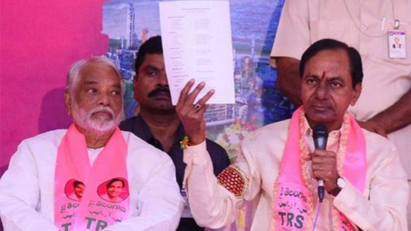 Kcr Mark Politics On TRS MLA Candidates List-