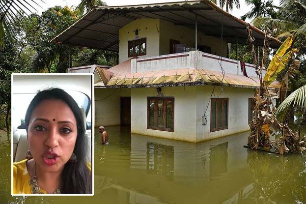 Suma And Rajeev Kanakala In Kerala Floods Helping-