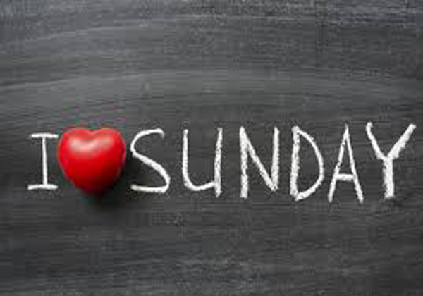Why Did The Sunday Leave? How You Come .. Do Not Know But Read It-