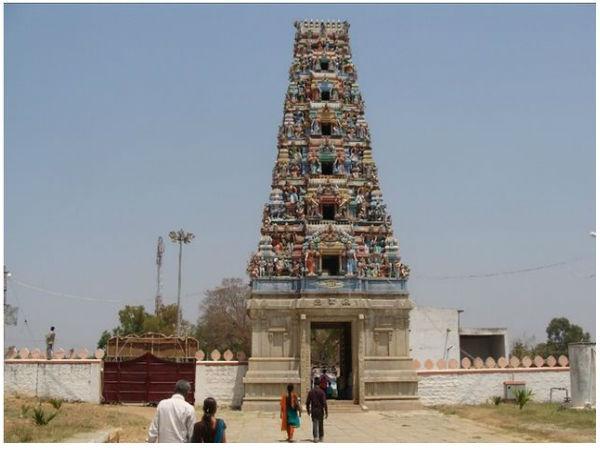 Narendra Modi Dasarighatta Chowdeshwari Temple-