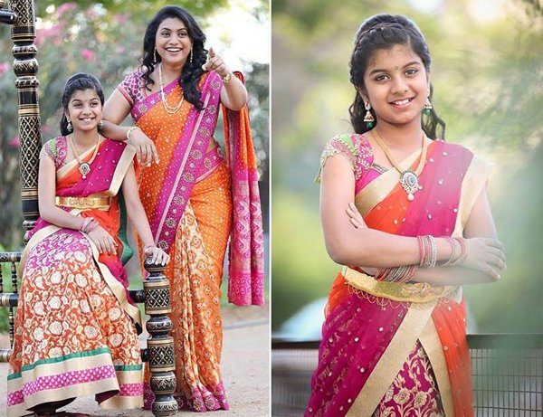 Actress Roja Daughter Anshu Malika-