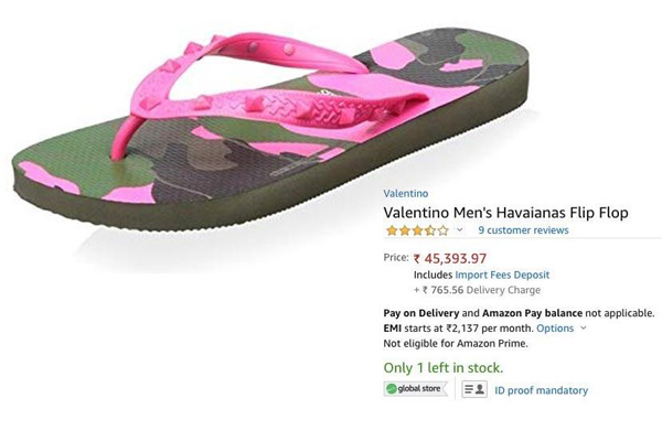 Amazon Bumper Offer On Slippers-