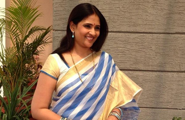Bapu's Granddaughter Telugu Anchor Gayathri Bhargavi-