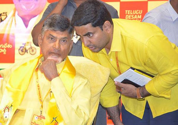 Chandrababu Naidu From Tirupati With Nara Lokesh Kuppam-