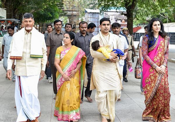 Chandrababu About Nara Lokesh Marriage Incident-