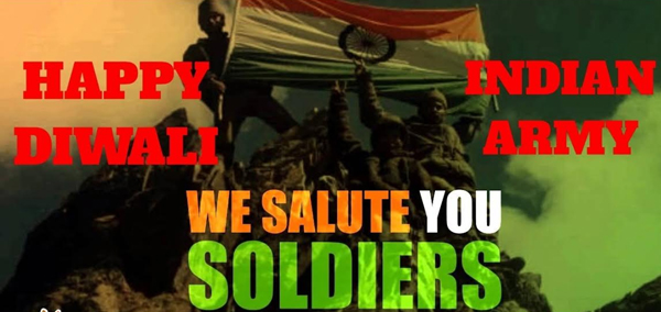 Diwali Wishes For Soldiers  Message Indian Soldiers-