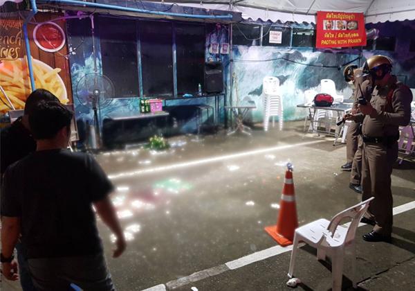Foreign Tourist Attack In Gang Shooting Near Bangkok-