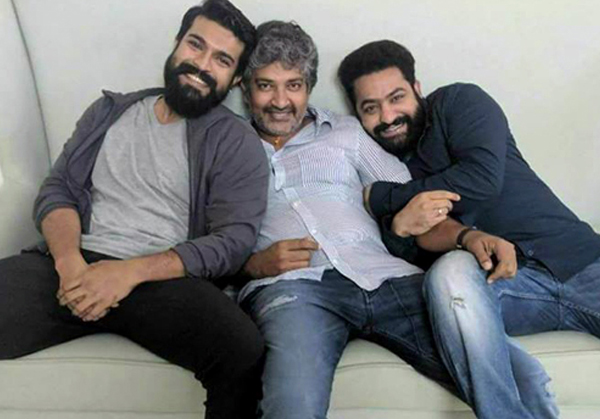 Four Profit Share For Rajamouli Multistarrer Movie-