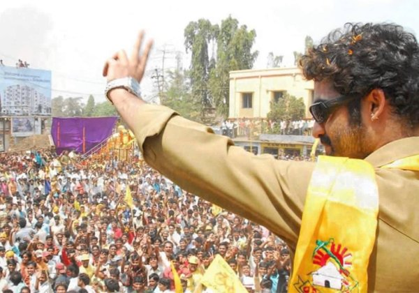 Jr NTR In Elections TDP Campaigning 2018-