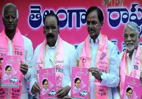 KCR Releases Manifesto Of TRS For The Year 2018-