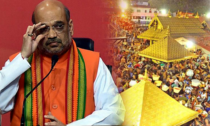 Kerala BJP Plans On Sabarimala Issue-