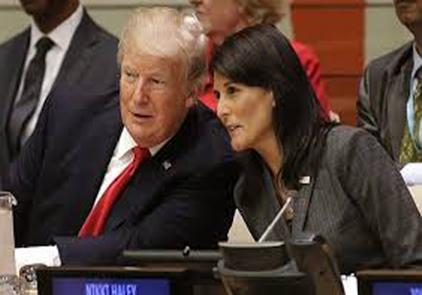 Nikki Haley To Resign As Trump's Ambassador-