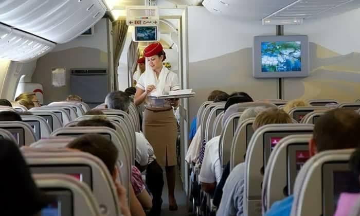 Passengers Asks Hair Hostess To Change Seat But Hair Hostess--Passengers Asks Hair Hostess To Change Seat But Hostess-