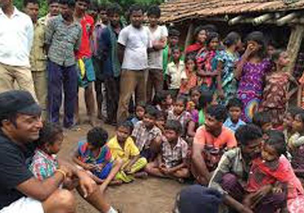 Actress Pranitha Subhash Adopted A School At Aluru Village-