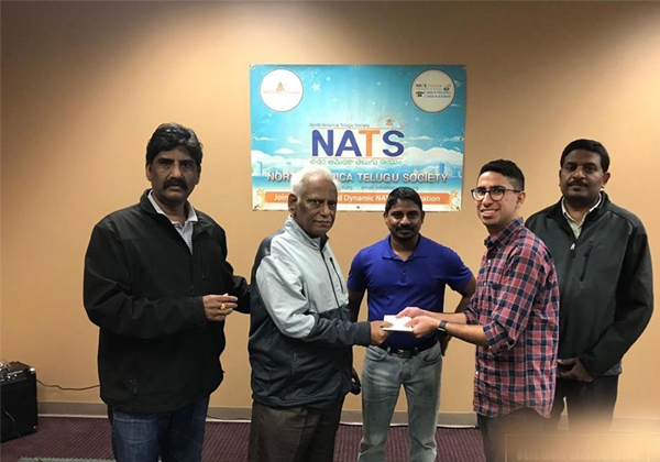 Telugu NATS Helps The People Who Affected In America-