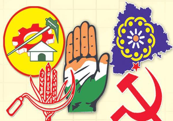 The Mahakutami Being Extended Tie Ups In Telangana-