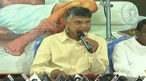 Chandrababu Gives Super Punch To Jagan About Titli Toofan-